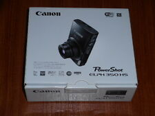 NEW in Box - Canon PowerShot ELPH 350 HS 20.2 MP Camera - BLACK - 013803252514