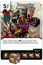 086 DOOMSDAY: Superman's Killer -Uncommon- WORLD'S FINEST Marvel Dice Masters