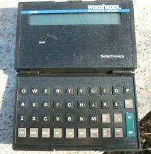 SelecTronics WordFinder Hand Held Electronic Dictionary Thesaurus Wf-220 w/ Case