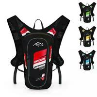 Bike Cycling Backpack Waterproof Running Bag Hydration Pack With Light