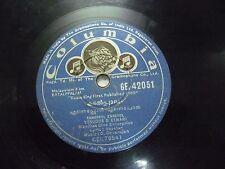 KATALPPALAM  G DEVARAJAN  MALAYALAM FILM GE 42051 RARE 78 RPM COLUMBIA VG+