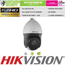 HIKVISION PTZ IP NETWORK CAMERA 2MP 1080P PoE 150M IR 4.7-94mm 20x PAN TILT ZOOM