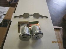 Door Lock Cylinders Set of 2 New Chevy Blazer Suburban C10 K10 81-86 chevy gmc