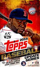 2016 TOPPS UPDATE SERIES  BASEBALL HOBBY BOX FACTORY SEALED NEW