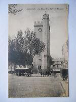 """CPA """"Avignon - La place Pie - La tour Saint Jean"""""""