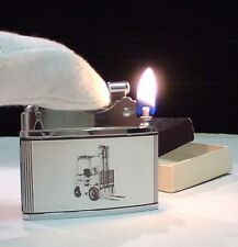 BRIQUET Ancien Brother - Lite PUB Rare NEUF+ écrin Lighter Feuerzeug Accendino