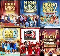 High School Musical Complete Movie 6 DVD Set  Encore Extended Remix Concert Dan