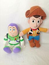 Disney Pixar Toy Story Woody & Kohls Cares Buzz Lightyear Plush Stuffed Animals