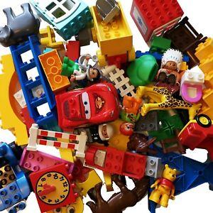 Lego Duplo Starterset XXL Bausteine 120 Teile Steine Tiere Figuren Fahrzeuge