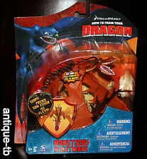 "HOW TO TRAIN YOUR DRAGON MONSTROUS NIGHTMARE FIGURE NEW 2010 RARE 7"" SPINMASTER"