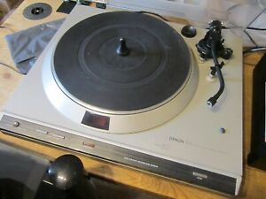 Denon DP30L Direct Drive 2 Speed Vintage Turntable Excellent Condition & Working