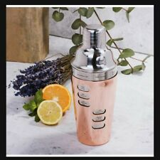 Stainless Steel Cocktail Shaker With Recipe Dial