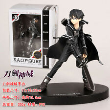 Sword Art Online Kirito Anime Manga Figuren Set H:15.5cm Neu