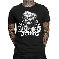 Hamburger Jung T-Shirt  |  Moin Moin |Hamburg | Lustig | Fun | Spaß | Kiez |