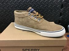 Sperry Striper Storm Waterproof Chukka Tan STS19888 Casual Shoes Men's Size 10.5