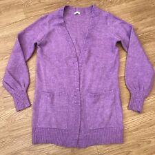 Girls Next Purple Knitted Cardigan 11 Years