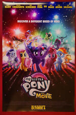 My Little Pony The Movie Animated Horse Pony Movie Poster 24X36 New