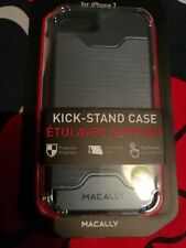 Lot 2 Iphone 7 hard cases Macally kick-stand case RRP 35£