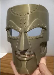 3d Printed Marvel Victor Von Doom/Dr. Doom Mask for Cosplay