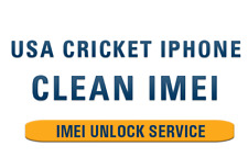 Cricket USA - iPhone 4s,5,5s,5c,6,6+,SE,6s,6s+,7,7+,8,8+,X,Xr,Xs-Max Clean IMEI