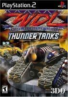 PS2 / Sony Playstation 2 Spiel - World Destruction League: Thunder Tanks mit OVP