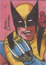 X-Men Origins Wolverine - Brian Postman SketchaFEX Sketch Card