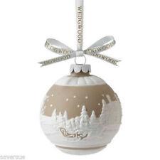 Wedgwood 2013 Traditional Holiday Sleigh Ride Ornament Nib