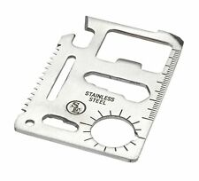 11-Function Stainless Steel Survival Pocket Tool