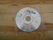 CD Punk July Talk - Guns + Ammonition (1 Song) Promo VERTIGO disc only