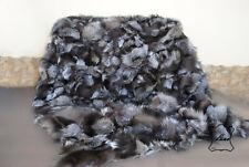 Echte Pelz Fuchs, Natur Pelzdecke, Tagesdecke,Felldecke, Fell blanket fur, Decke