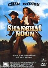 Shanghai Noon DVD ACTION COMEDY Jackie Chan Owen Wilson Lucy Liu BRAND NEW R4