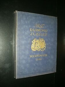 BOURNEMOUTH 1930. N.U.T. CONFERENCE. ILLUSTRATED SOUVENIR GUIDE. 104 PAGES + ADS