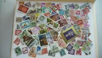 1975           lot 100 timbres seconds plusieurs pays