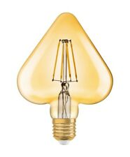 Osram LED VINTAGE 1906 LED HEART GOLD E27 Filament 4.5W 2500K 470 Lumen