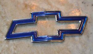 Chevy Cavalier Hood Emblem Blue Bowtie 1995-99 Front OEM Badge Symbol Chevrolet
