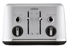 New Sunbeam - TA2640SC - Gallerie 4 Slice Toaster - Silver Cloud