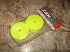 Vintage RC Losi XXX4 Series Front Wheels Solid Yellow (2) 7047