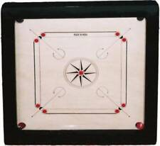 "New 36"" X 36"" carrom board striker game large coins and set quality tournament@"