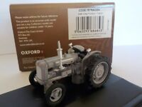 Fordson Tractor,  Grey , Oxford Diecast 1/76 New Dublo, Railway Scale