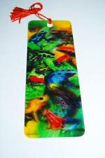 "Gift Trenz Feeling Froggy 3-D Bookmark with Tassel Howard Robinson 6"" #16140 new"