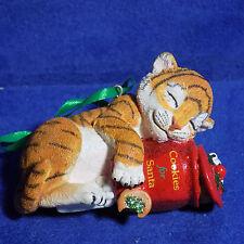 Tiger Cub Danbury Mint Baby Animal Ornament Christmas Cookies For Santa - Mib