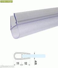 2,20 mt - Guarnizione box doccia trasparente a palloncino per vetro 4/6mm