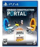 Bridge Constructor Portal (PlayStation 4)