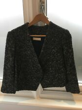 Kaelen Wool Cropped Jacket Blazer Coat S Small New