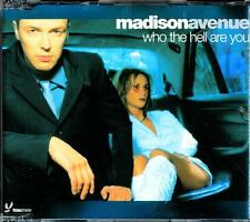 MADISON AVENUE WHO THE HELL ARE YOU 4 TRACK CD - EXCELLENT - VGC