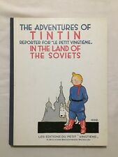 BD - Tintin in the Land of The Soviets Fac-simile N&B  / HERGE / ANGLAIS / 1991