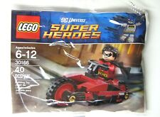 NEW LEGO ROBIN AND THE REDBIRD CYCLE SET NUMBER 30166