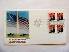 """November 6th, 1985 """"Washington Monument"""" First Day Issue"""