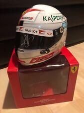 Sebastian Vettel Ferrari 2016 Helm Helmet 1:2 Signed Autogramm Autograph **RAR**