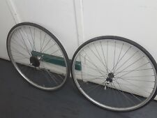 VINTAGE ARAYA 700C PX-45 RIMS CLINCHER 7 SPEED SHIMANO WHEEL SET